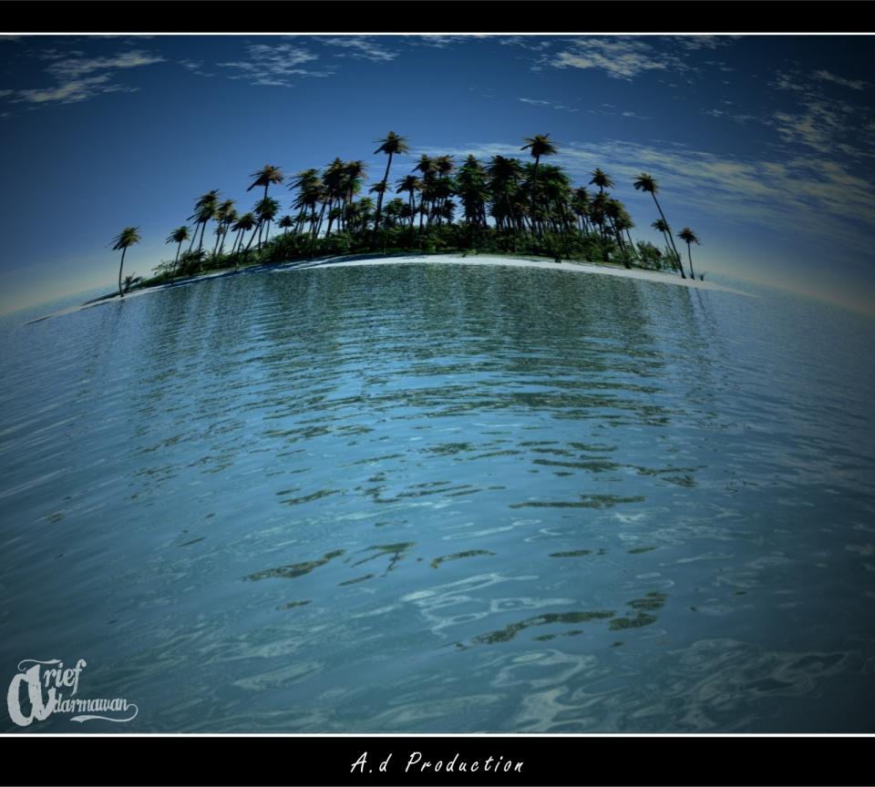 landscape fisheye